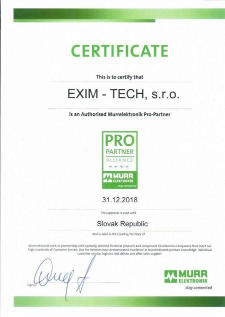 Certificate_Murrelektronik